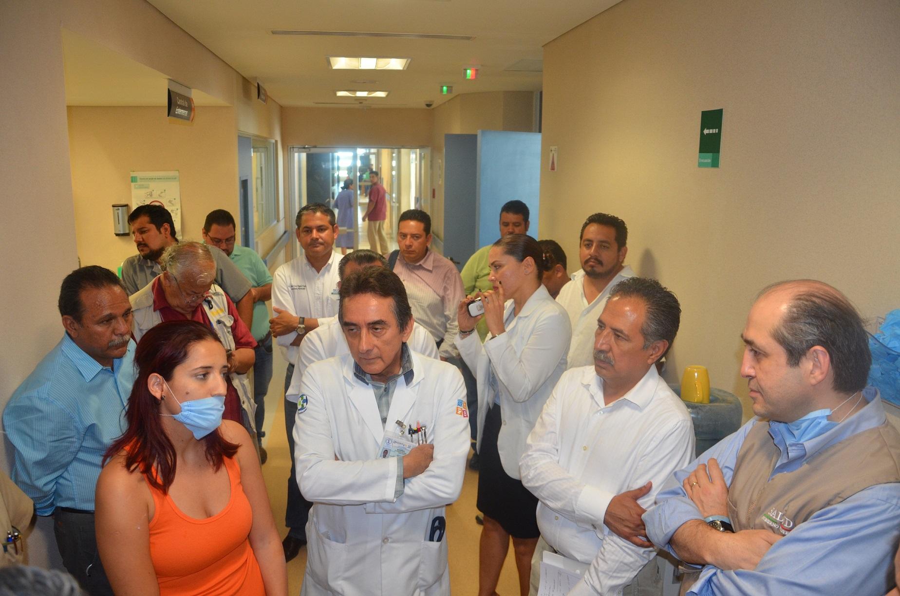 260914 Visita al HospitalJuan Maria de Salvatierra 05jpg