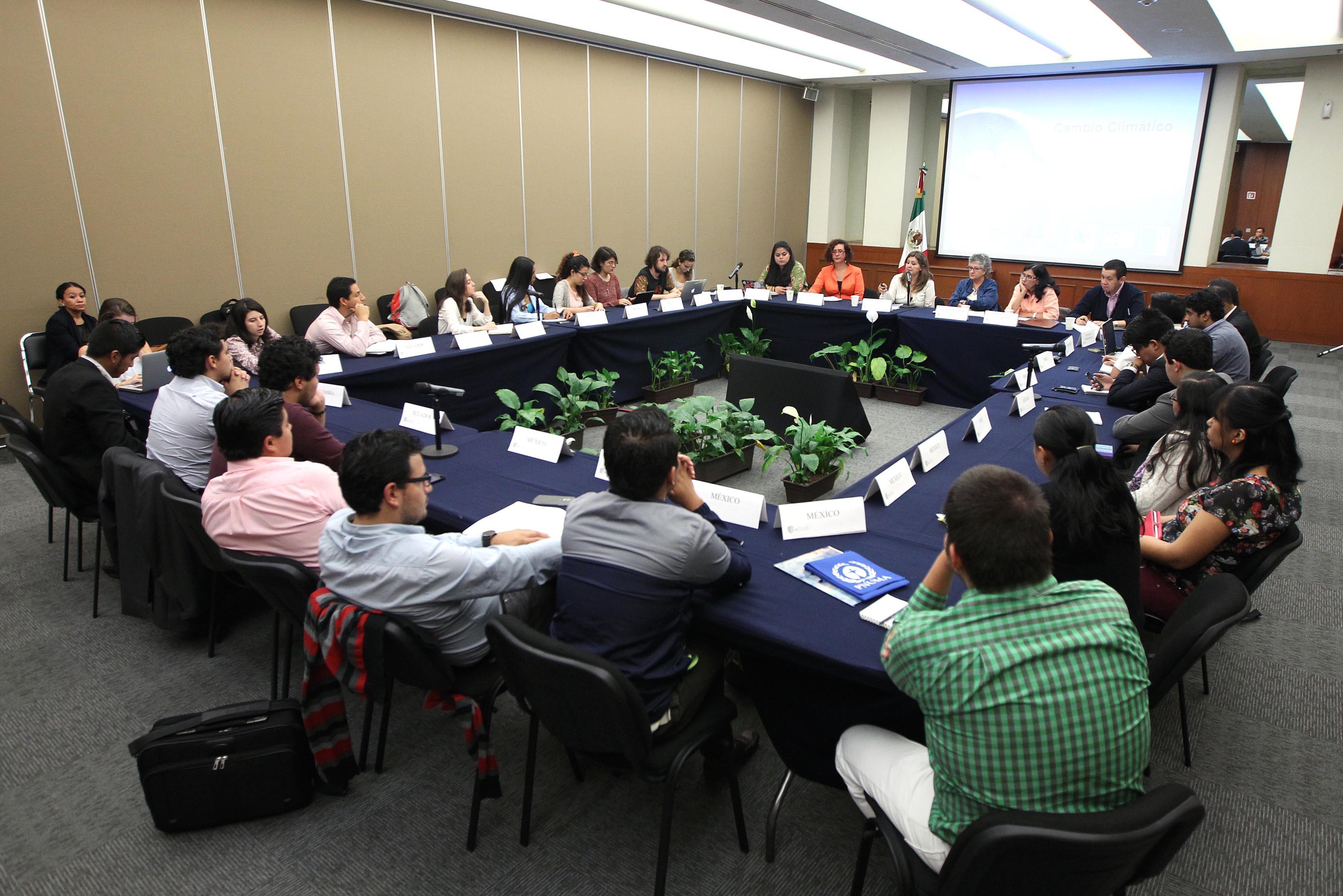 FOTO Encuentro del Movimiento de J venes Latinoamericanos y Caribe os frente al Cambio Clim ticojpg
