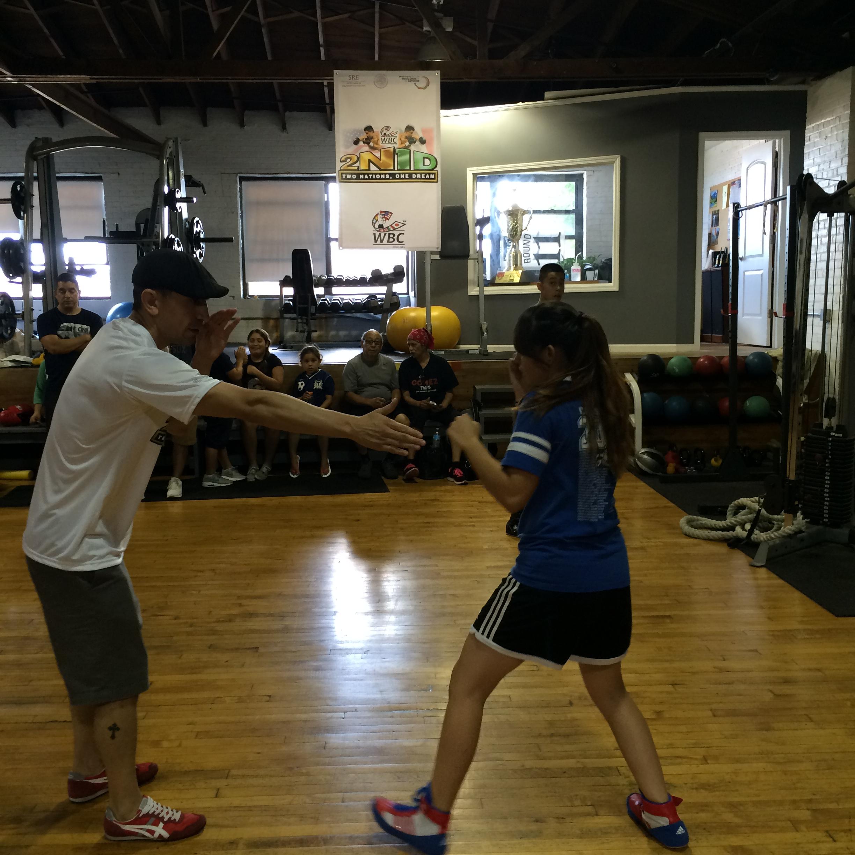 Entrenamiento Chicago Boxeando Sin Fronteras Instituto De Los Mexicanos En El Exterior