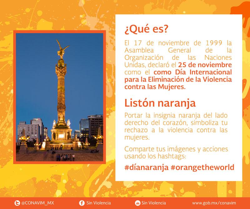 Qué Es El Día Naranja Y Por Qué Se Conmemora Comisión Nacional