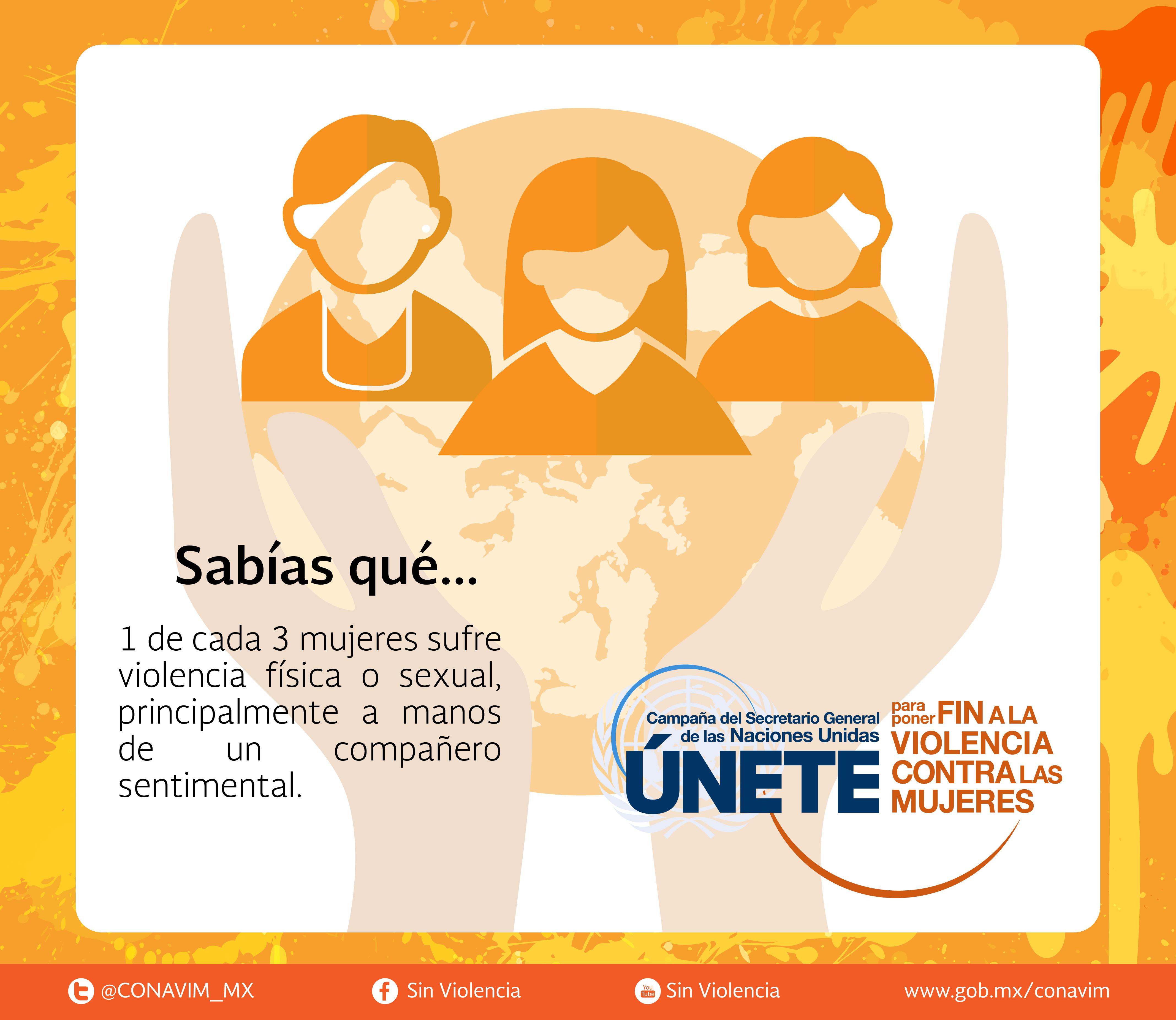 únete Para Poner Fin A La Violencia Contra Las Mujeres Y