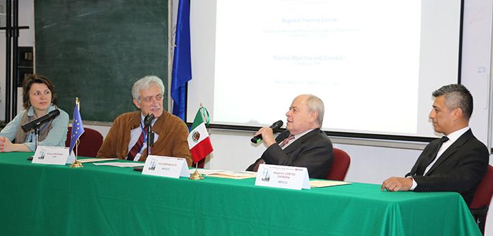 El Ingeniero Eibenschutz habló de la importancia de estar preparados para atender las emergencias radiológicas.