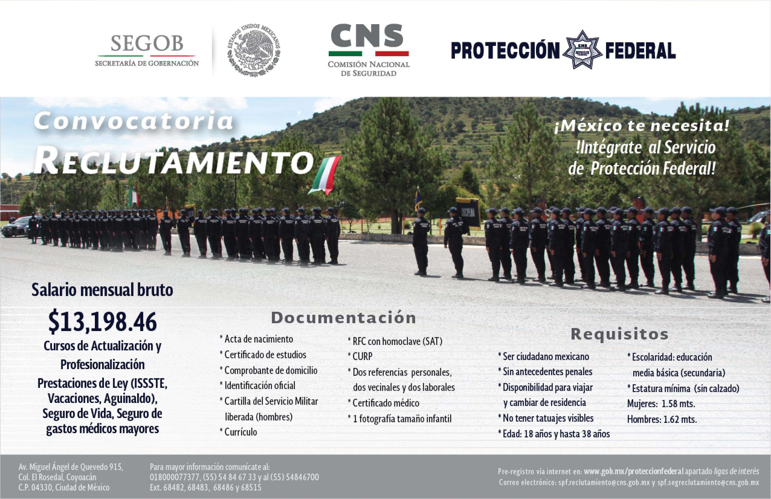 Servicio de protecci n federal gobierno for Portal de servicios internos policia