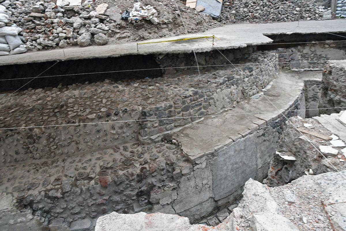 Templo de Ehécatl Zona Arqueológica Templo Mayor