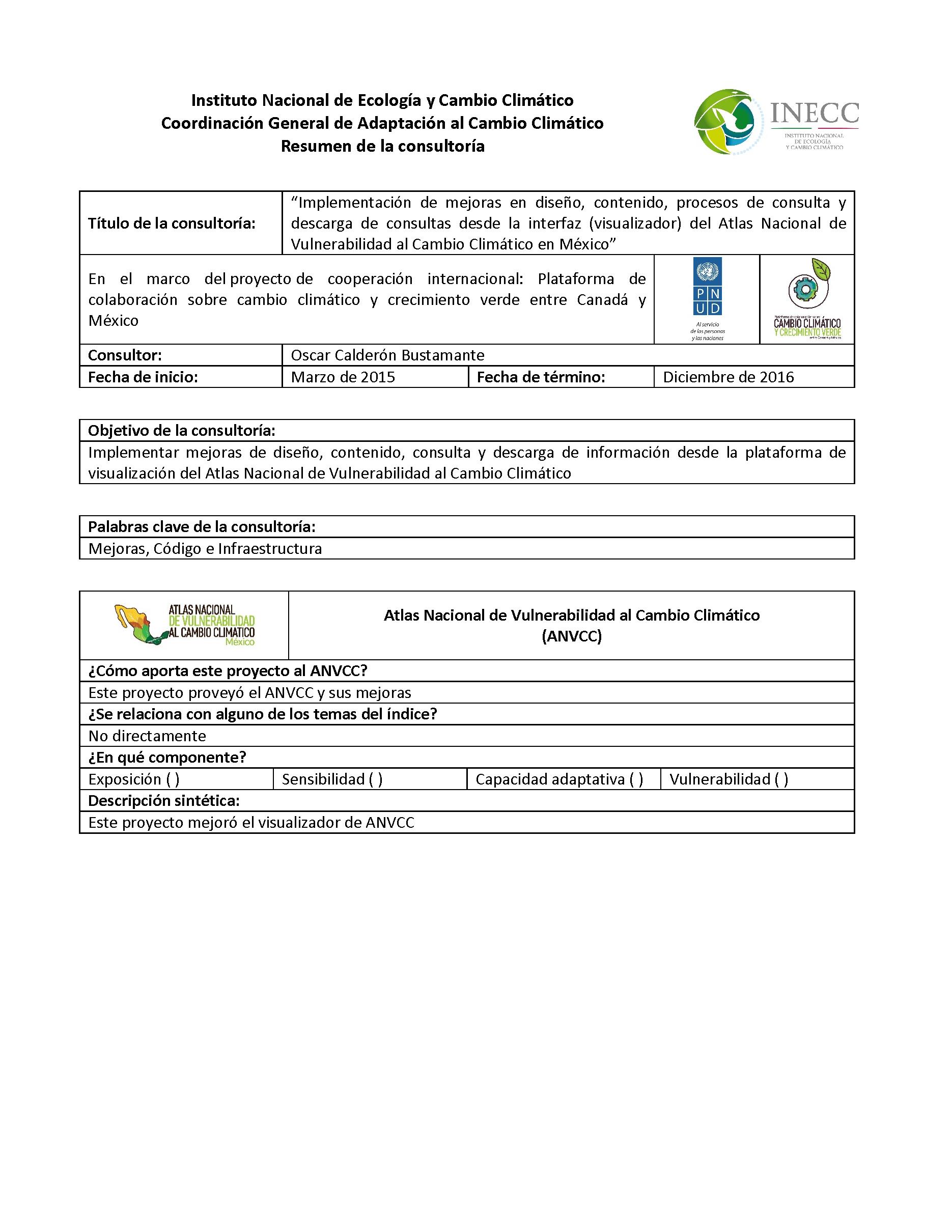 Implementación de mejoras en diseño, contenido, procesos de consulta ...