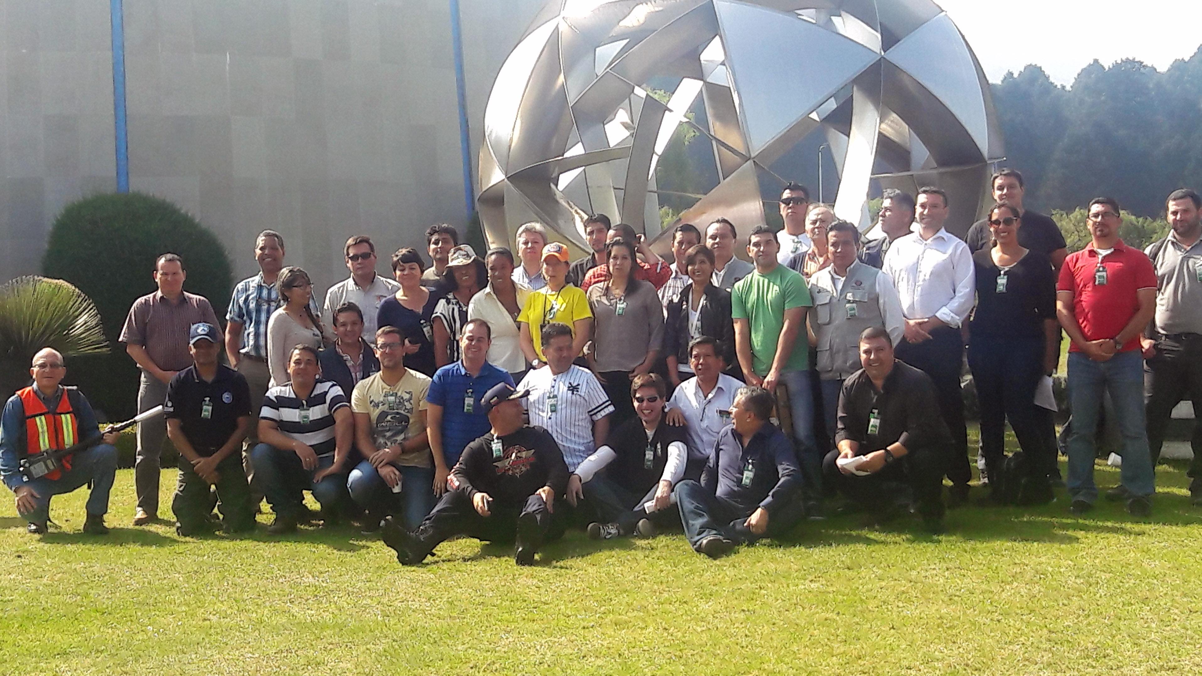 Como parte de las actividades del curso, se realizó una visita guiada a las instalaciones del Instituto Nacional de Investigaciones Nucleares (ININ), ubicado en la Carretera México Toluca – La Marquesa s/n, Ocoyoacac, Estado de México.
