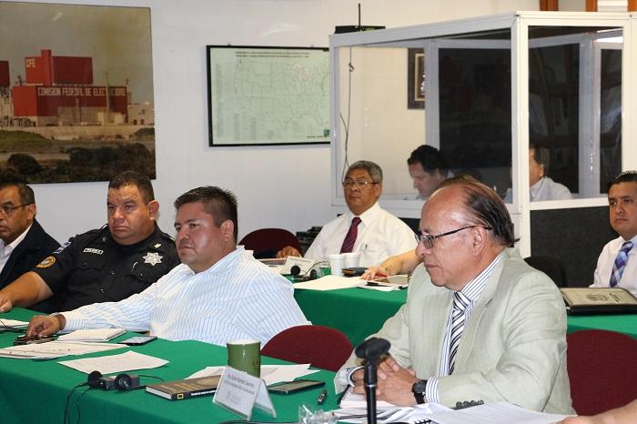 Asistieron representantes de la Policía Federal de las Divisiones de Inteligencia, Fuerzas Federales y Seguridad Regional.