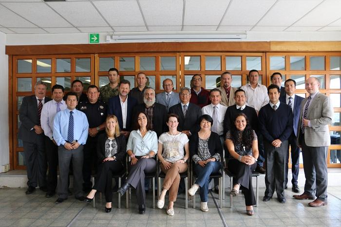 La reunión se llevó a cabo del 12 al 15 de junio de 2017 en el auditorio de la CNSNS.