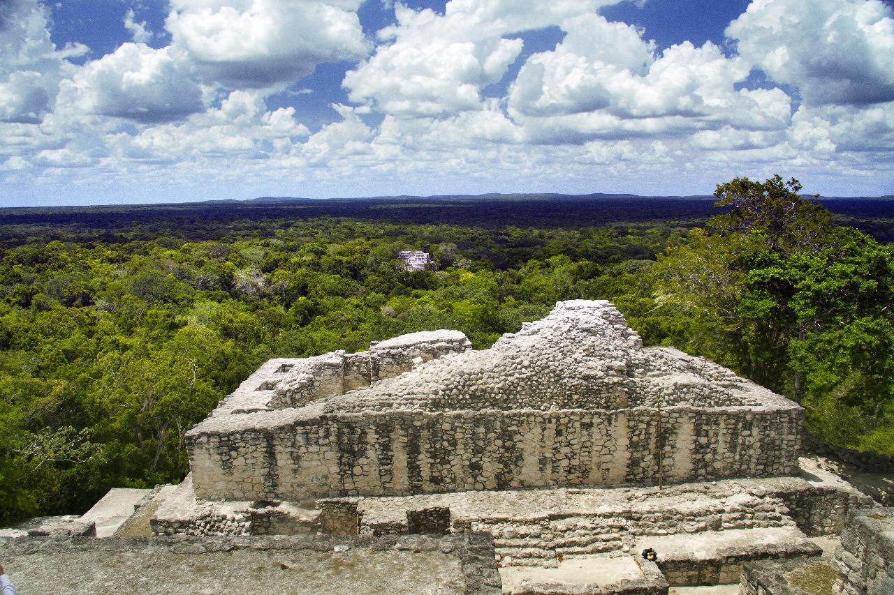 Antígua Ciudad Maya Calakmul