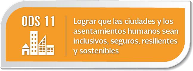 Objetivo de Desarrollo Sostenible 11: Ciudades y Comunidades ...