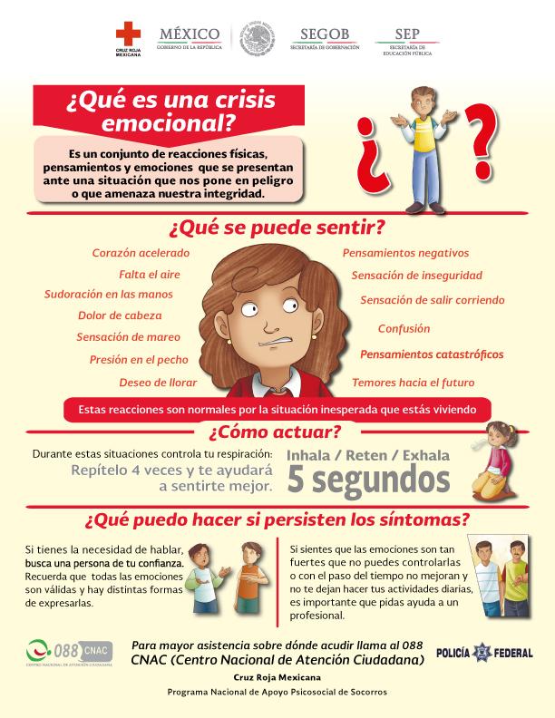 Que Es Una Crisis Emocional Secretaria De Educacion Publica Gobierno Gob Mx