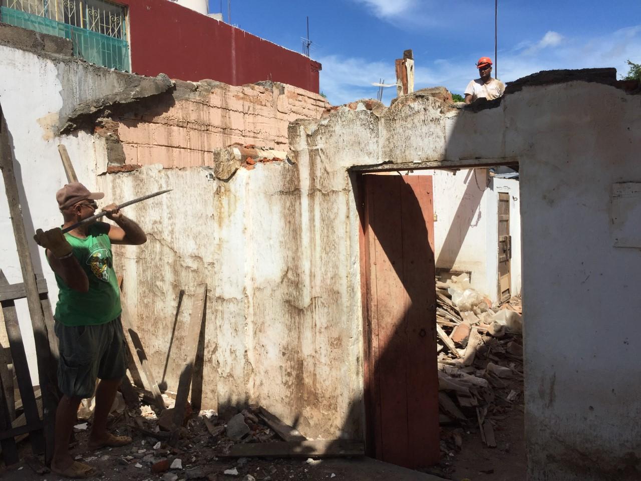 El mantenimiento de la imagen urbana tradicional, pero ahora con una mejor edificación es parte central de la autoconstrucción oaxaqueña
