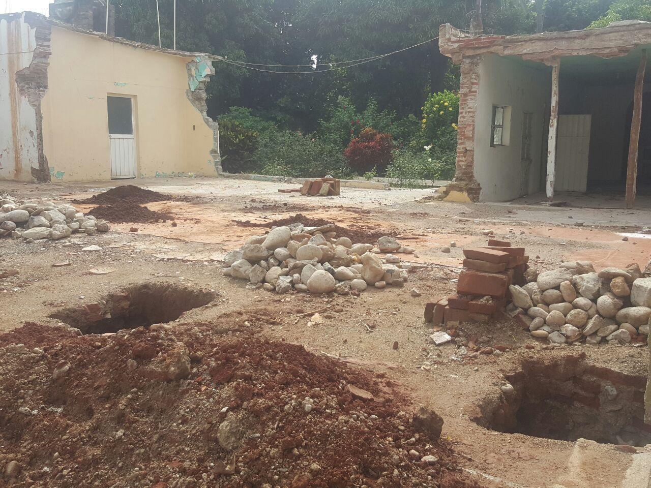 La excavación para unos cimientos sólidos son esenciales para una mejor edificación