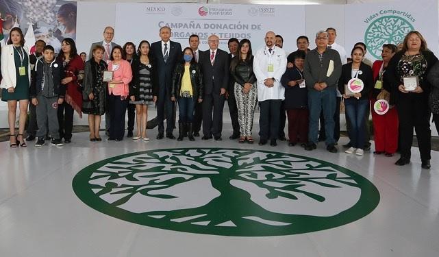 Va ISSSTE por meta de mil trasplantes en 2018
