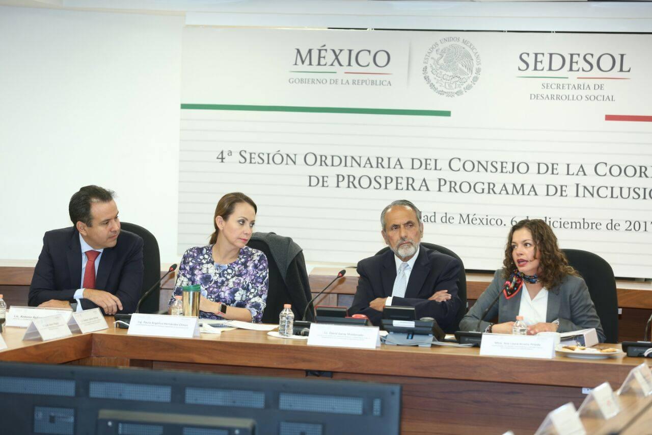 Cuarta Sesión del Consejo de la Coordinación Nacional de PROSPERA  Programa de Inclusión Social.