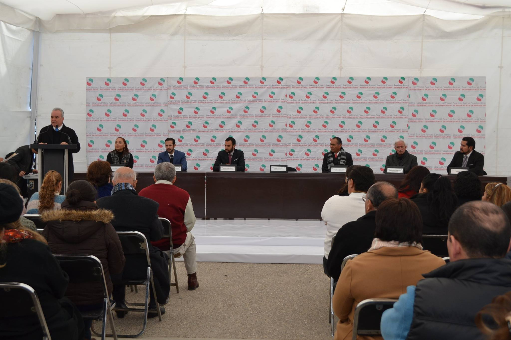 Conferencia del programa Recicla para leer de la Conaliteg, en el estado de San Luis Potosí.