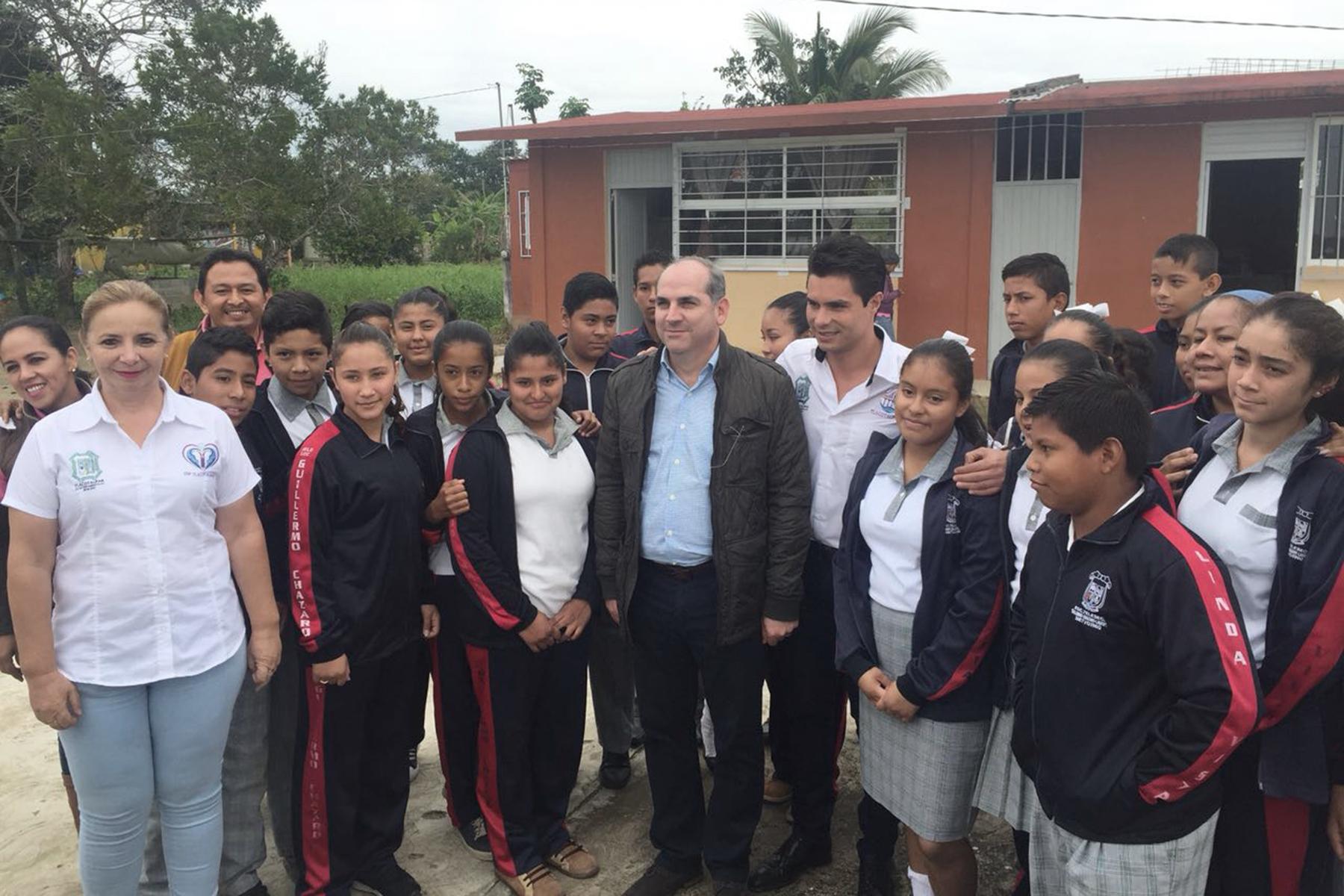 Con el arranque de obras en Tlacotalpan, ser verán beneficiadas los cerca de mil habitantes de las localidades Lindavista, Casas Viejas y Santa Julia.