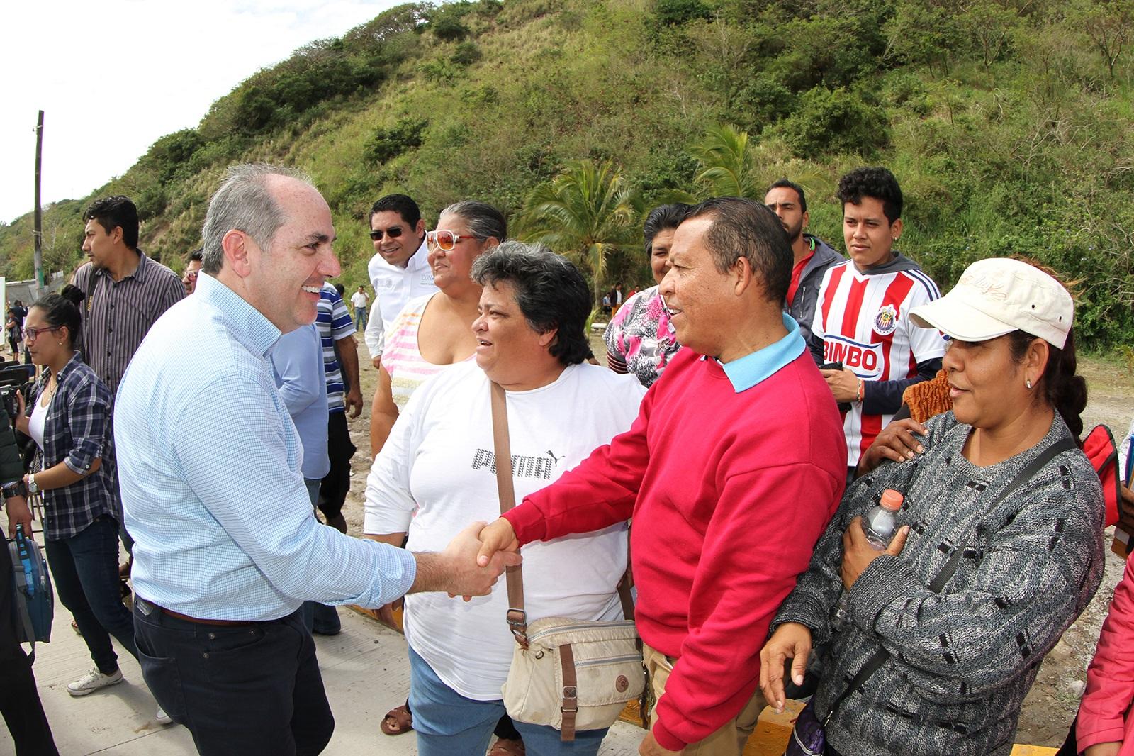 Las obras de protección a centros de población en Veracruz permiten enfrentar las afectaciones provocadas por los fenómenos hidrometeorológicos.