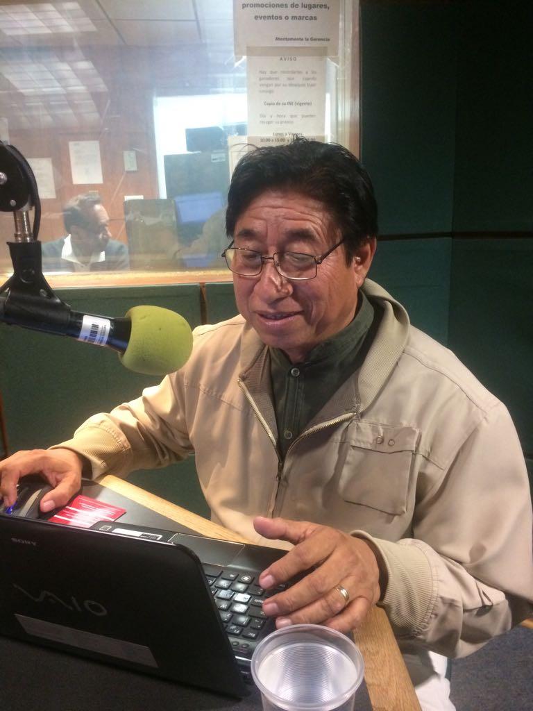 Invitado en los Guardavoces radio