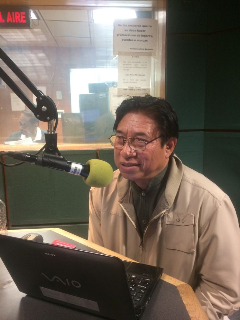 Invitado en los Guadavoces radio 2018
