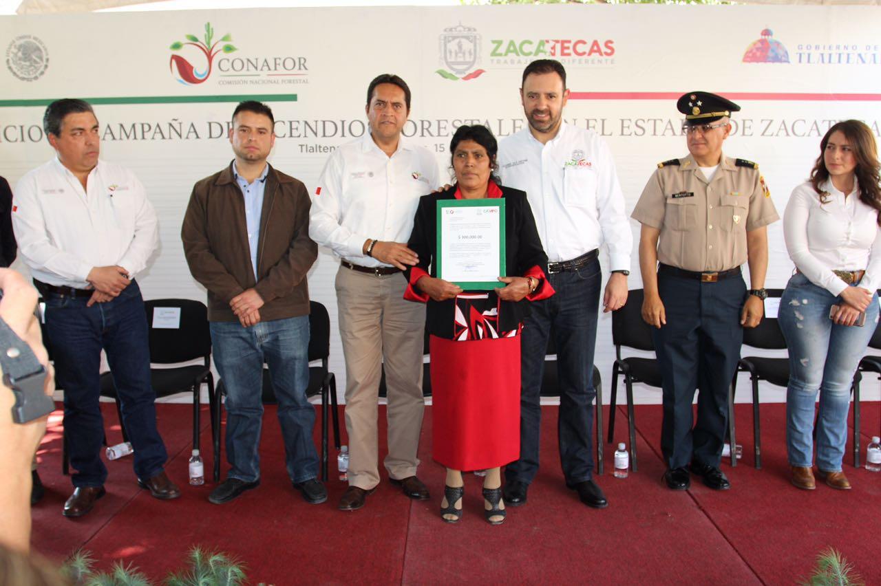 Destina conafor 81 4 mdp en apoyos forestales a zacatecas for Viveros forestales conafor