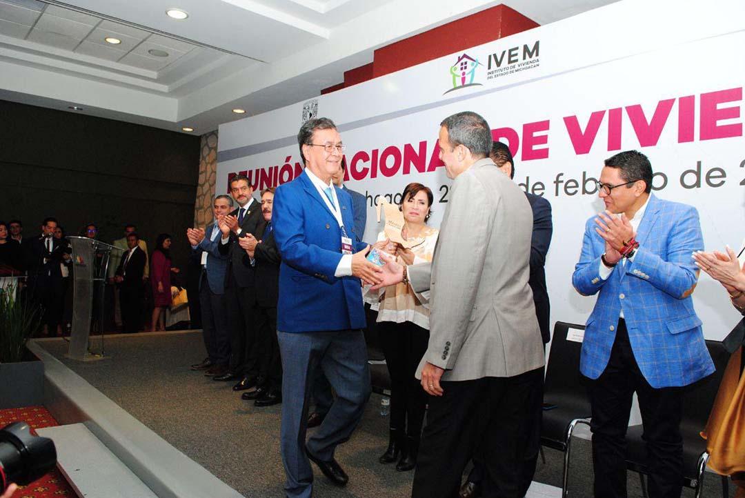 Participación en la XXXII Reunión Nacional CONOREVI - Morelia, Michoacán