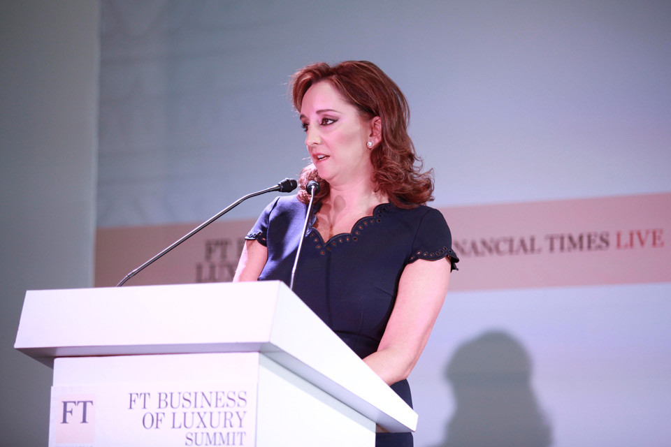 Claudia ruiz massieu inaugura business luxury summit