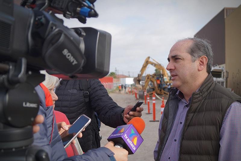 Roberto Ramírez de la Parra subrayó, ante medios de comunicación, que los trabajos en el río Tijuana contribuirán a la salud de la población y el medio ambiente de Tijuana, México, y San Diego, Estados Unidos de América.