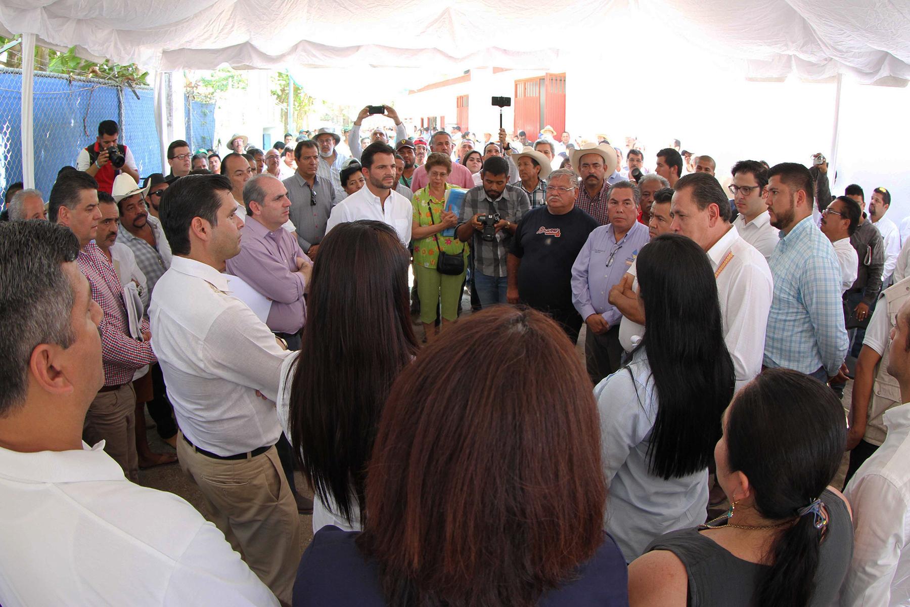 El Gobernador Antonio Echeverría García agradeció los trabajos de la Conagua, debido al gran impacto que tienen las obras en el bienestar de la población.