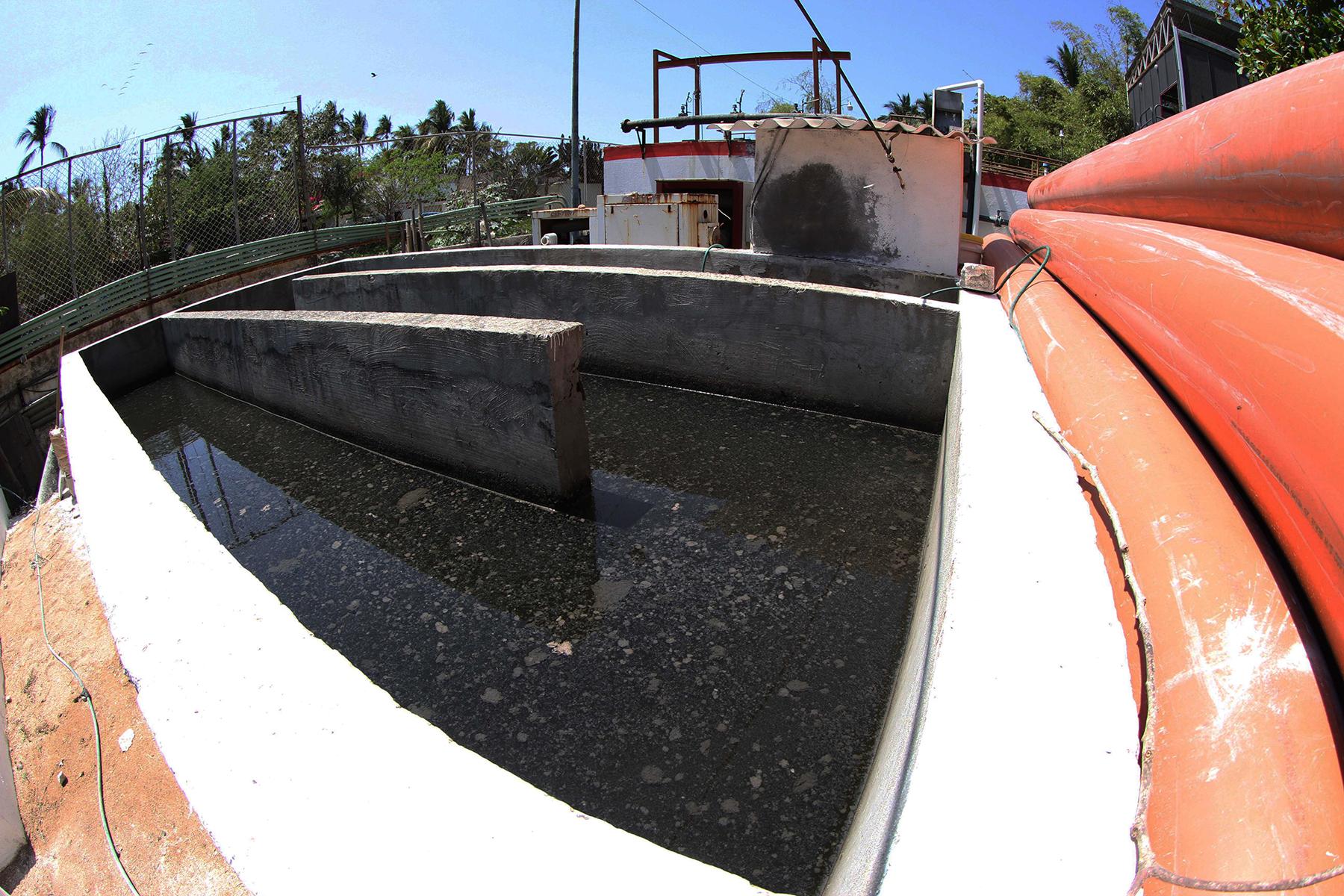 El agua saneada por la planta de tratamiento de aguas residuales de Sayulita podrá utilizarse en el riego de áreas verdes.
