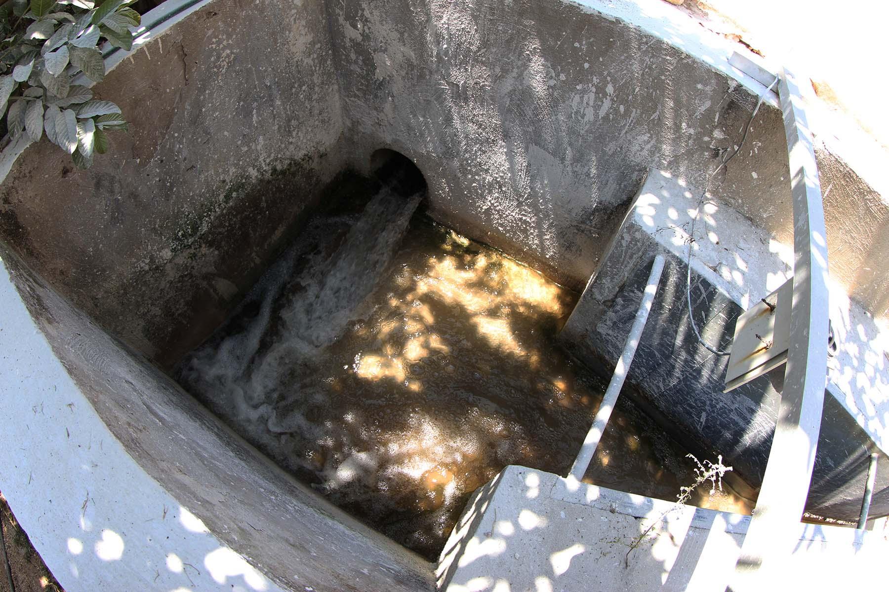 Iniciaron las tareas de reconversión de la planta de tratamiento de aguas residuales de Sayulita.