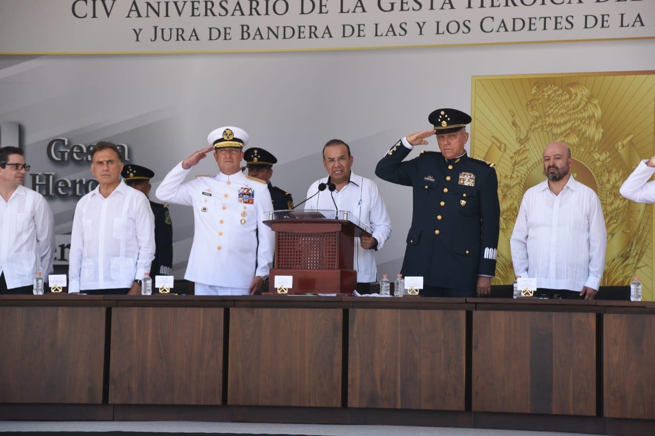 21 Abril Gesta Heroica de Veracruz