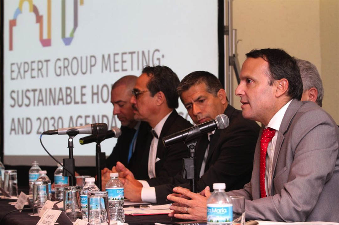 Reunión del grupo de expertos sobre vivienda sustentable y agenda 2030 ONU-Habitat