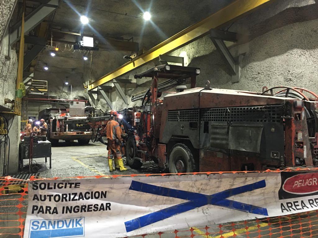 instalaciones de la mina Velardeña-Peñones en el Día Mundial de la Seguridad y Salud en el Trabajo 2018