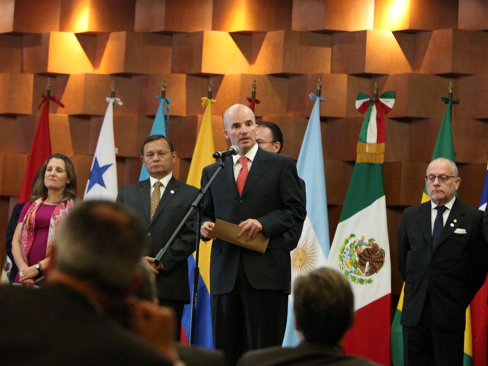 En el marco de la Reunión de Ministros de Relaciones Exteriores y Ministros de Finanzas del Grupo de Lima