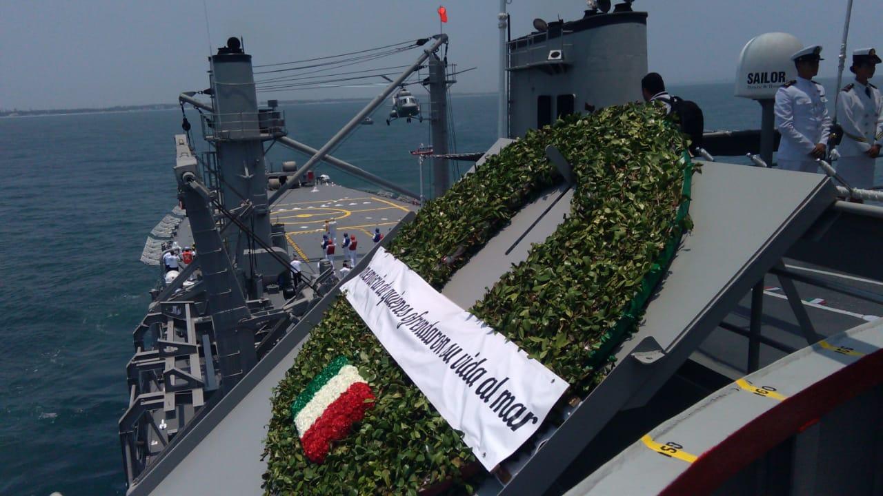 Conmemoración del Día de la Marina Nacional