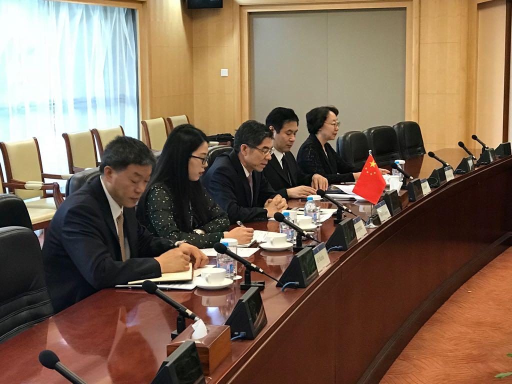 La comitiva China coincidieron con los funcionarios mexicanos en todos los puntos del convenio