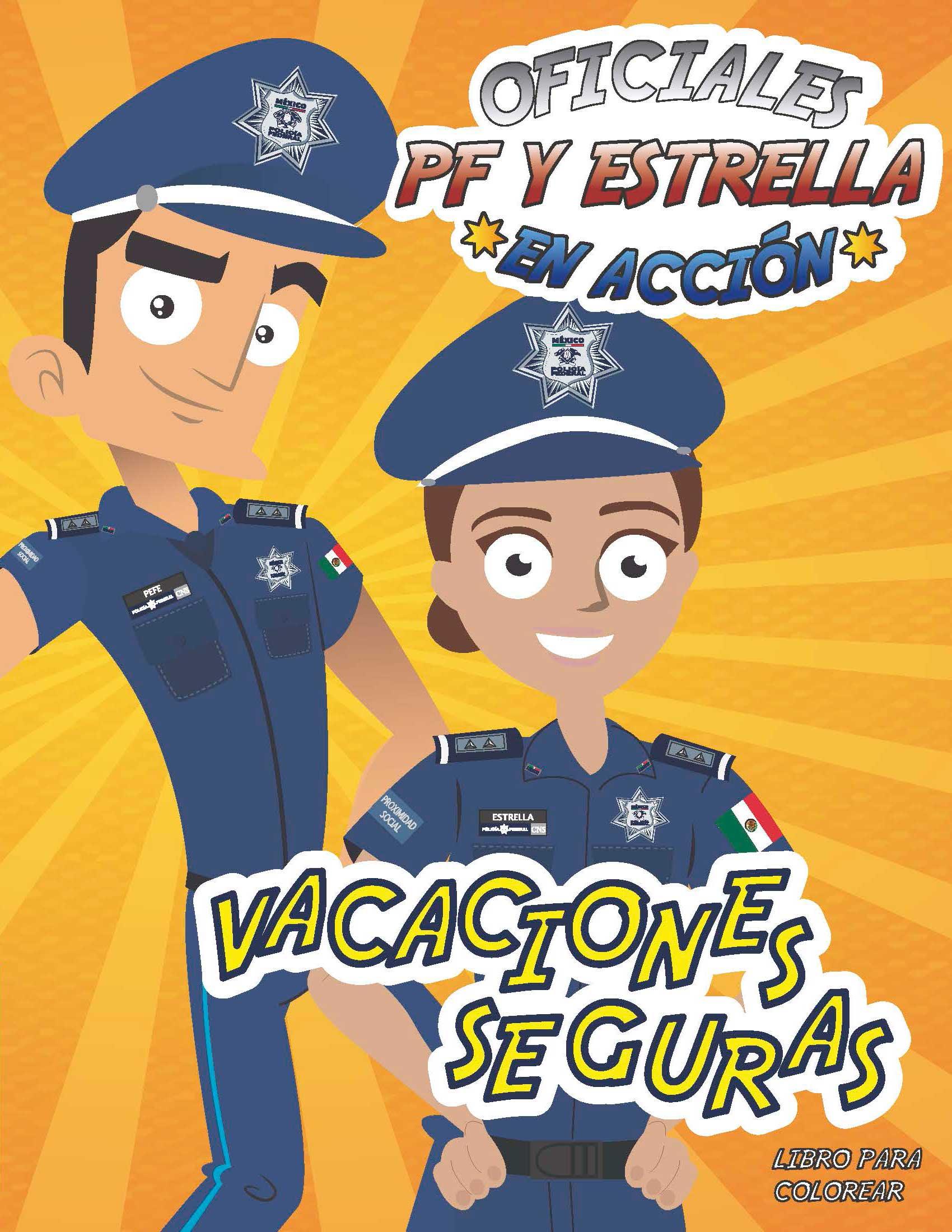 Ilumina a la Policía Federal de México ¡y dale color! | Policía ...