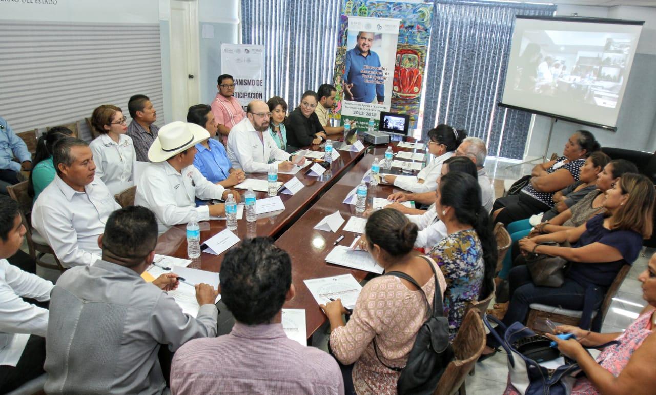 Sesión de enlaces remotos con oficinas de Insurgentes y Valle del Yaqui.