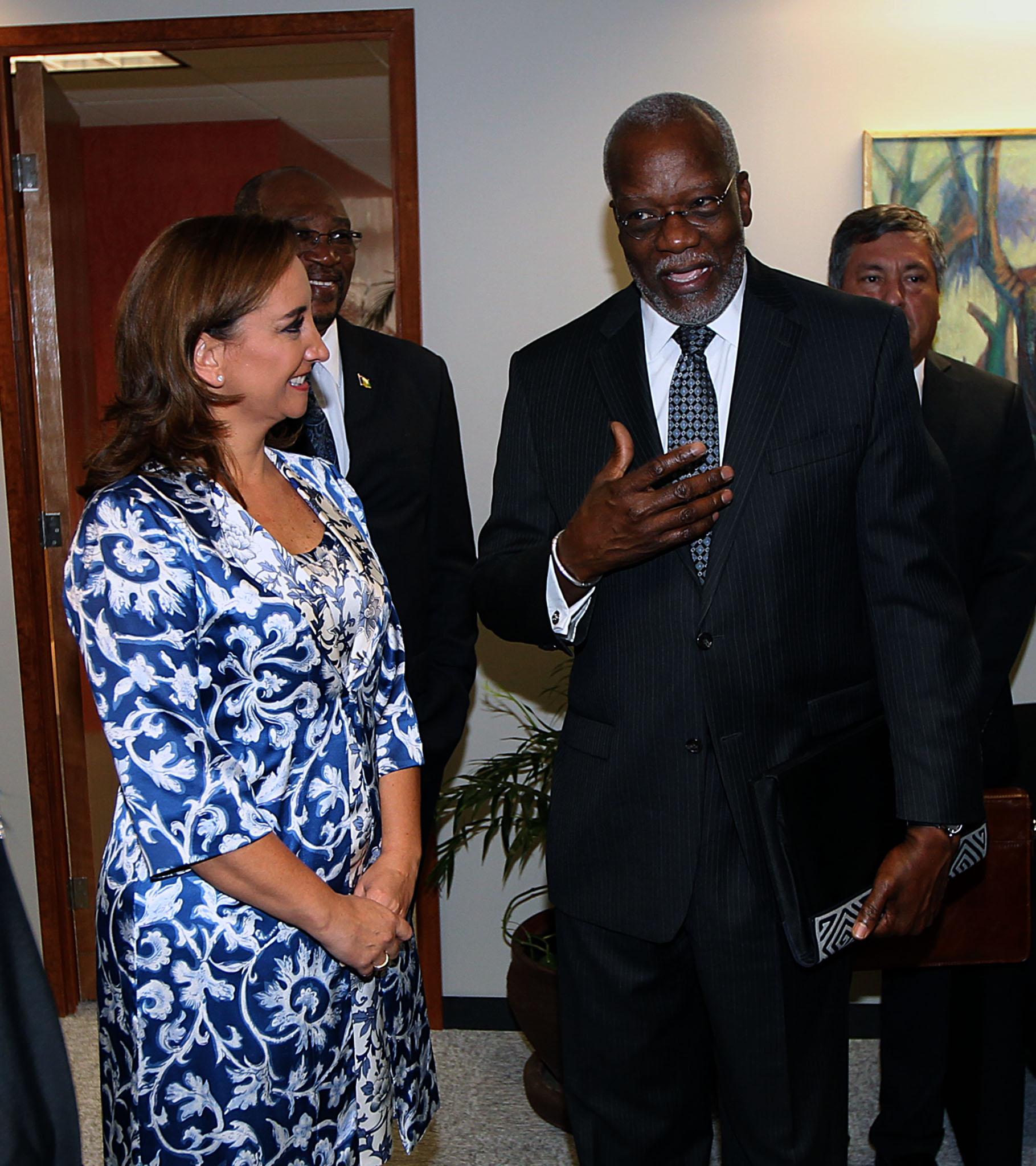 FOTO 3 La canciller Claudia Ruiz Massieu inaugur  oficina para embajadas concurrentes del Caribe.jpg