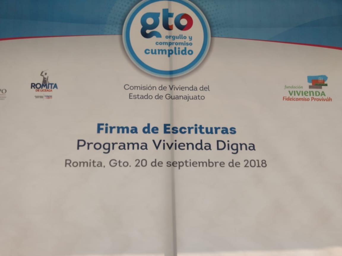 Evento realizado en Romita, Guanajuato.