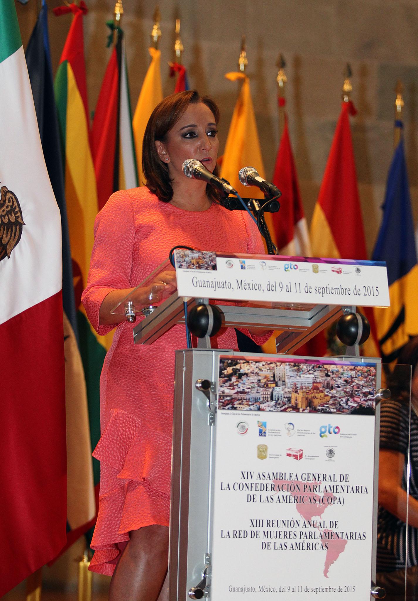 FOTO 1 Canciller Claudia Ruiz Massieu en la XIV Asamblea General de la Confederaci n Parlamentaria de las Am ricas.jpg