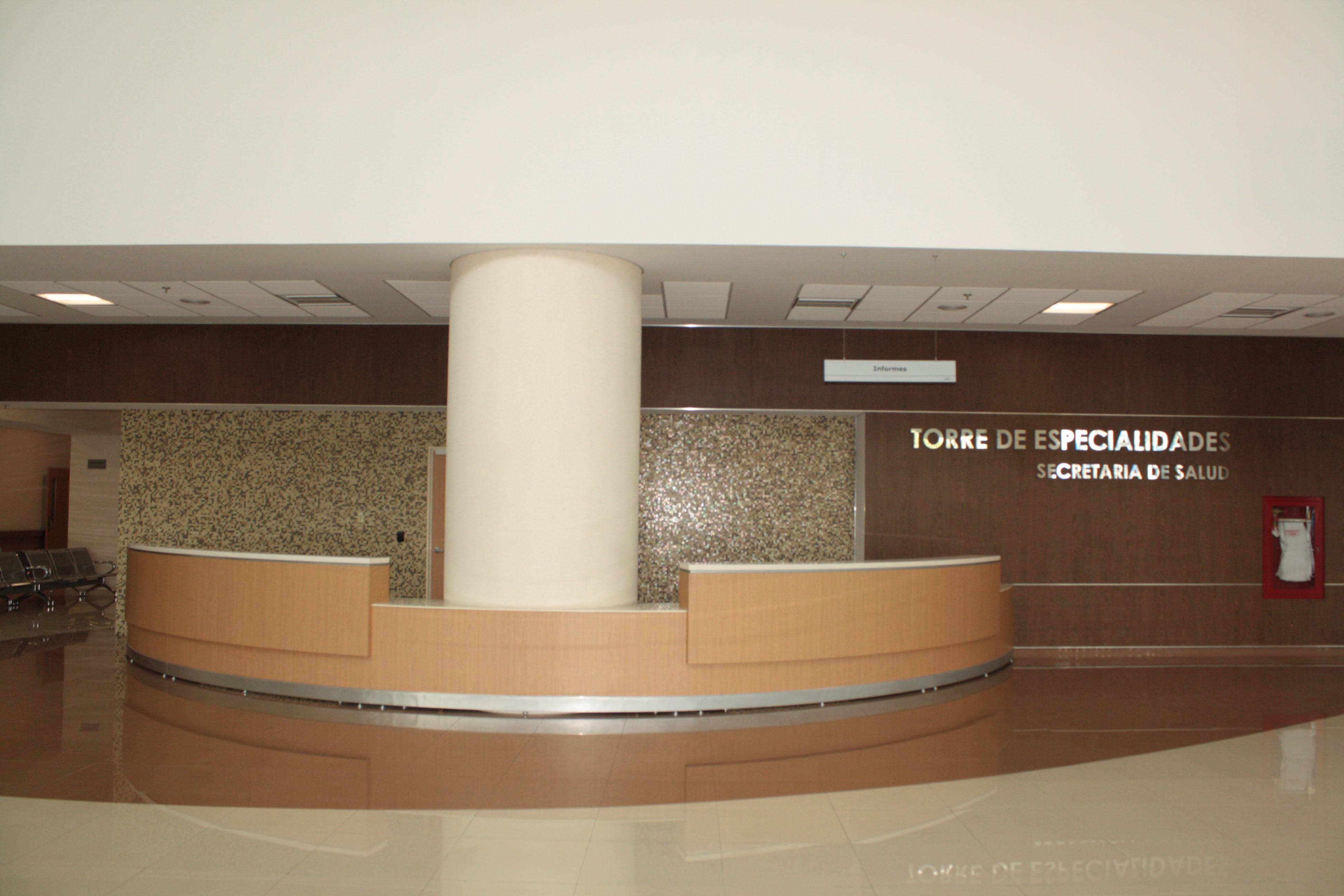 En esta área de encuentra Trabajo Social de preconsulta y registro de pacientes para preconsulta