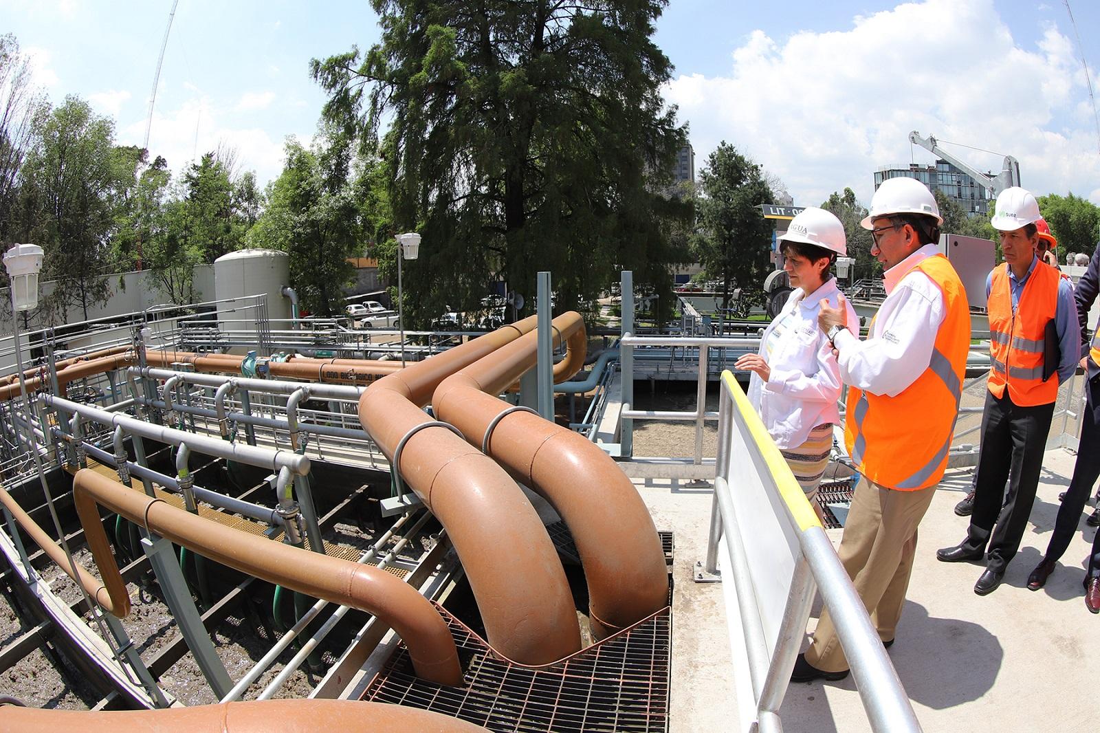 La Planta de Tratamiento de Aguas Residuales Chapultepec fue sometida a un proceso de modernización, con el fin de que brinde mejor servicio a la Ciudad de México.