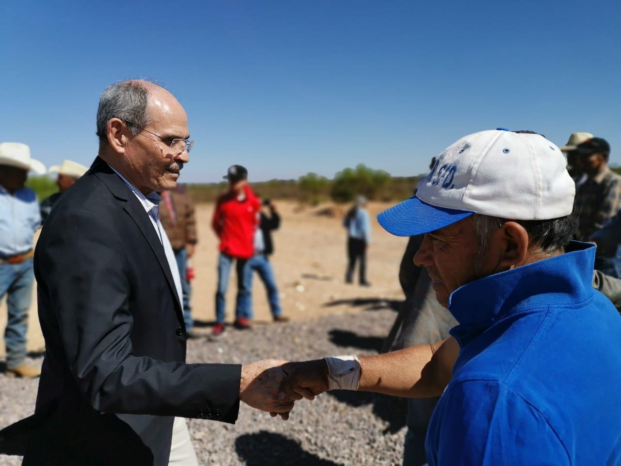 Director General de CONAZA con autoridades del Gobierno del estado en visita de campo por distintos municipios y localidades de Zacatecas