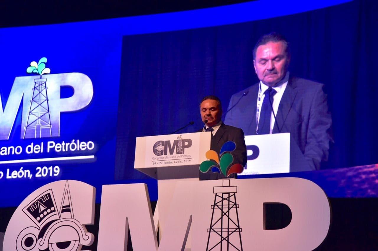 Congreso Mexicano del Petróleo 2019, en León, Guanajuato