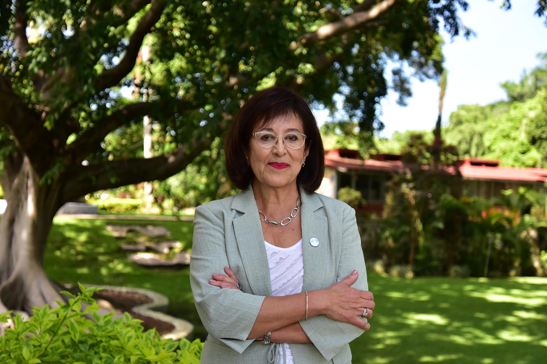 Directora del Instituto Nacional de Electricidad y Energías Limpias