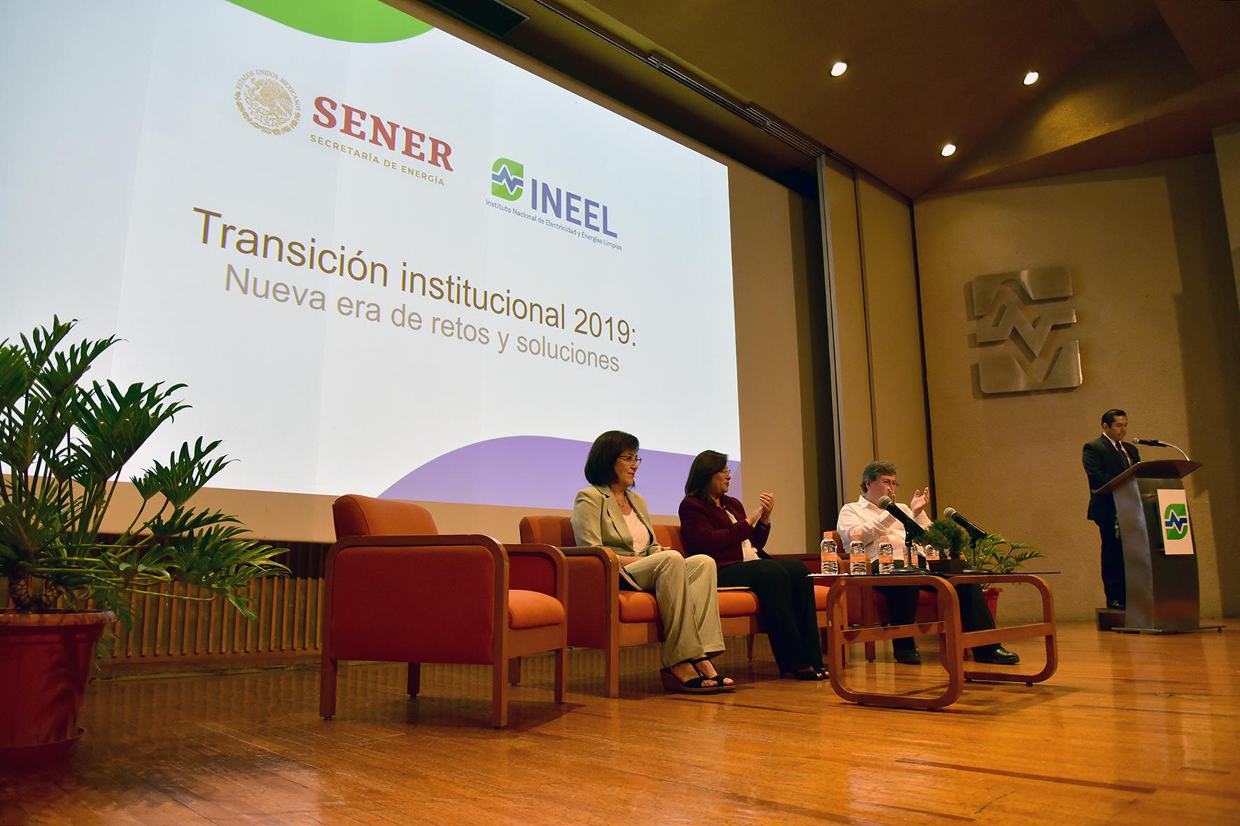 Transición Institucional del INEEL 2019