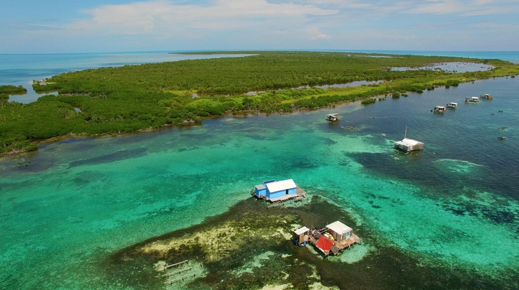 Banco Chinchorro es un lugar de belleza privilegiada y uno de los mejores arrecifes de coral en México.