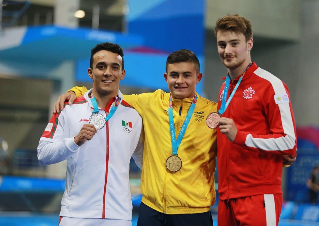 Juan Manuel Celaya gana plata en clavados en los Juegos Panamericanos 2019